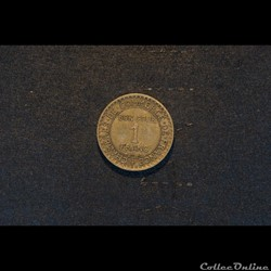 Bon pour 1 Franc 1923