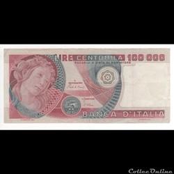 100.000 Lires  #108  ITALIE  1978