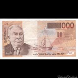 1.000 Francs  #150  BELGIQUE  1997