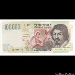100.000 LIRE #117 ITALIE 1994
