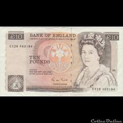 10 Pounds  #379  GRANDE BRETAGNE  1988/91