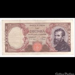 10.000 Lires  #97  ITALIE  1968