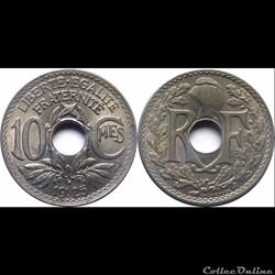 1925 - 10 cts - Paris