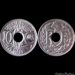 1923 - 10 cts - Poissy