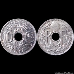 1927 - 10 cts - Paris