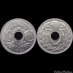 1924 - 10 cts - Paris