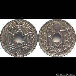 1917 - 10 cts Paris