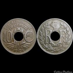 1924 - 10 cts - Poissy