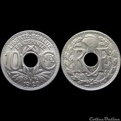 1920 - 10 cts - Paris
