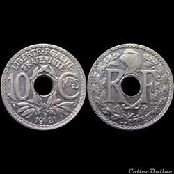 1921 - 10 cts - Paris