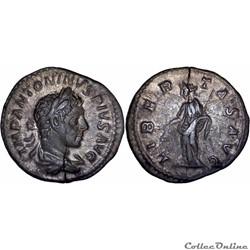 8.107. Elagabalus - denarius (Libertas)