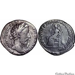 5.0348. Marcus Aurelius - denarius (Securitas)