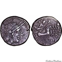 276/1. Papiria - denarius (122 BC)
