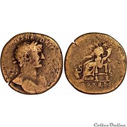 3.551a. Hadrian - sestertius (Fortuna)