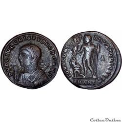 12.028. Crispus - follis Antioche (Jupiter)