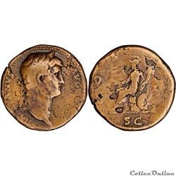 3.636c. Hadrianus - sestertius (Roma)