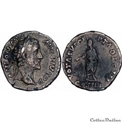 4.0283a. Antoninus Pius - denarius (vota...