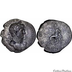 3.039b. Hadrian - denarius (Concordia)
