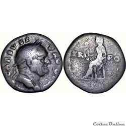 09.046. Vespasian - denier (Vesta)