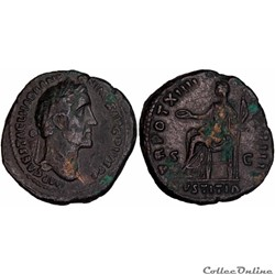 4.0881. Atoninus Pius - as (Justitia)
