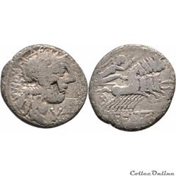 275/1. Fannia - denarius (123 BC)