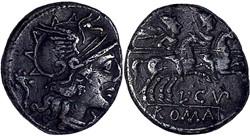 218/1. Cupiennia - denarius (147 BC)