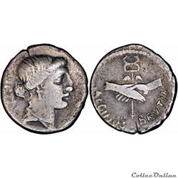 450/2. Junia - denarius (48 BC)
