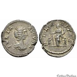 5.557. Julia Domna - denarius (Hilaritas...