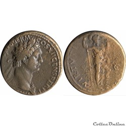 11.500. Domitian - As (Virtus)