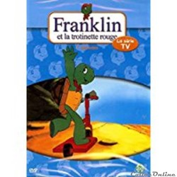 FRANKLIN ET LA TROTINETTE ROUGE DVD