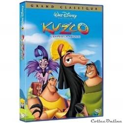Kuzco L'Empereur Mégalo DVD