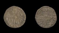 Méreau monétaire au peigne