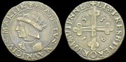 Méreau capitulaire du chapitre St Mauric...