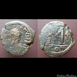 Justinien follis Constantinople