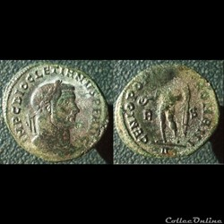 Dioclétien nummus Rome GPR R|S