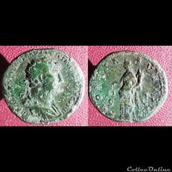 Hadrien dupondius Moneta Augusti