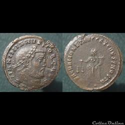 Galère Nummus Ticinum(?) Moneta