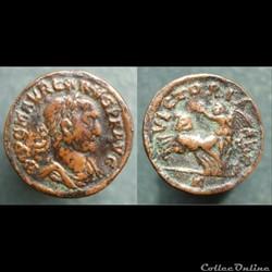 Carus - copie d'après un aureus - VICTORIA AVG
