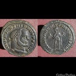 Maximien nummus Carthage
