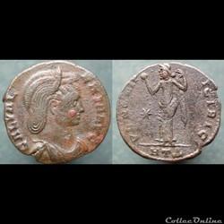 Galeria Valeria, nummus, Héraclée