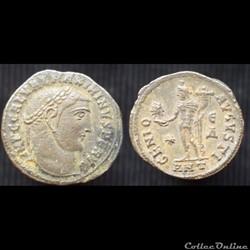Maximin II Nummus Antioche GA Sol