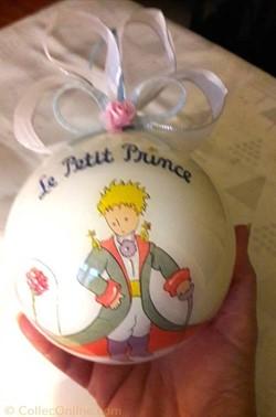 Boule de Noël Le Petit Prince
