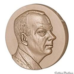 Médaille bronze – Antoine de Saint-Exupéry, par Jean Letourneur