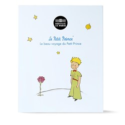 50 euros Argent Petit Prince en couleur ...