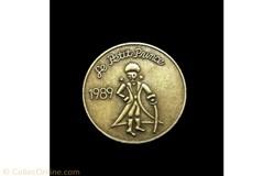 Médaille bronze PP 1989