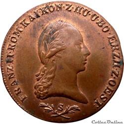 AUTRICHE 6 Kreuzer François II 1800 S (Schmollnitz) KM/WC.18/2128