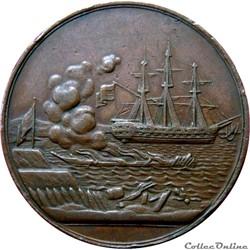 Médaille bataille maritime à Eckernförde...