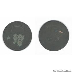 10 centimes Napoléon III 1855
