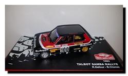 1983 - Talbot Samba Rallye N°100