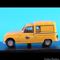 1962 - R4 Fourgonnette la Poste ( Norev ...